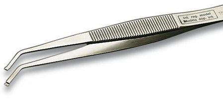 Erem 150SAMB SMD-Pinzette - Runde Spitzen gebogen