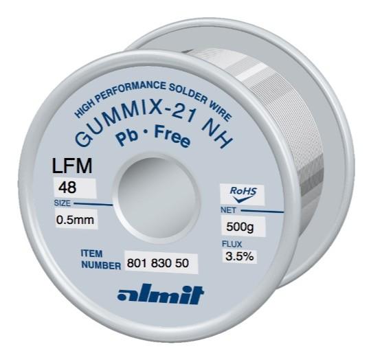 GUMMIX-21 NH LFM48, 3,5%, 0,5mm, 0,5kg Spule