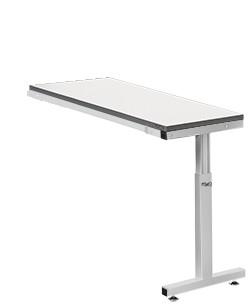 Viking ESD Tisch Comfort Anbautisch US-1 Lichtgrau RAL 7035