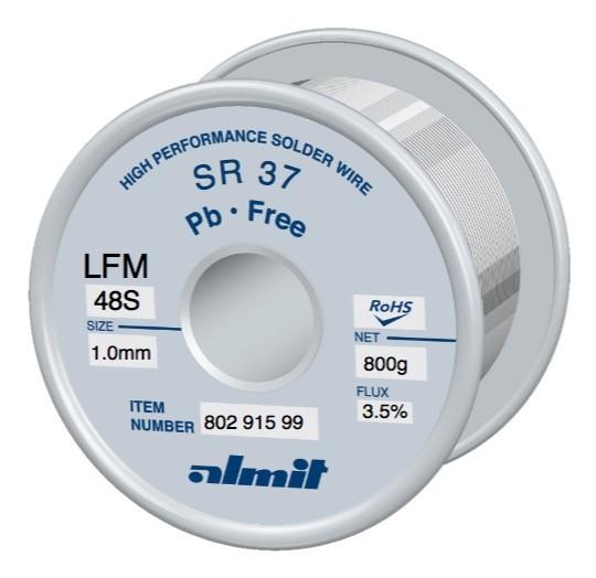 SR 37 LFM-48-S 3,5%, 1.0mm; 0.8kg Spule