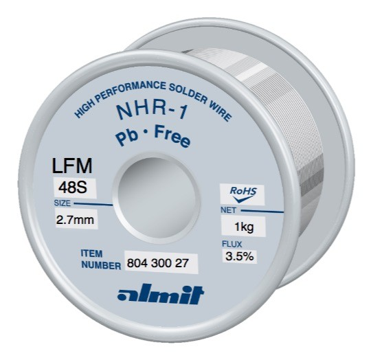 NHR1-LFM48-S 3,5%, 2,7mm, 1,0kg Spule