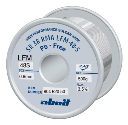 SR38 LFM48-S 0,8mm, 0,5Kg Spule