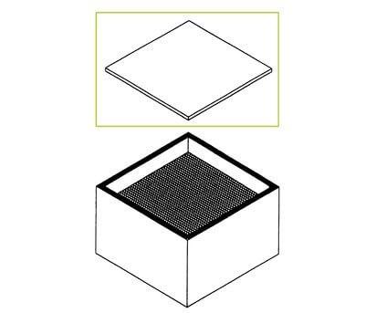 Weller Feinstaubfilter F7 für Zero Smog 20T, WFE 20D, WFE 4S, Zero Smog 6V, FC 800