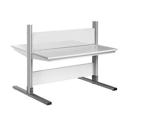 Viking ESD Tisch Alpha Doppelarbeitsplatz ALF-O