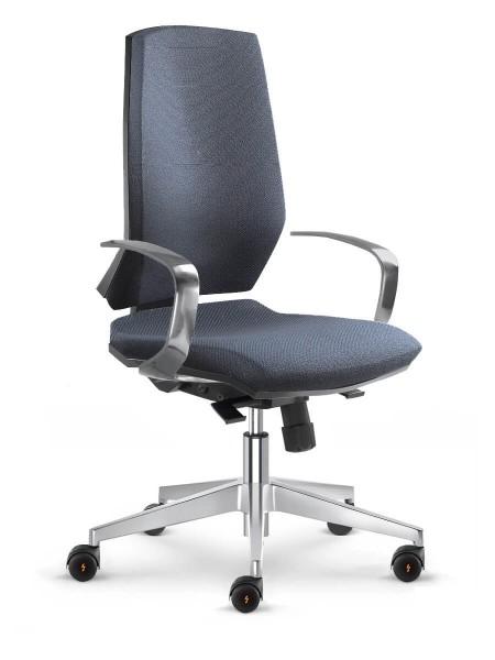 Armlehne für ESD Stuhl Stream aus Aluminium